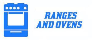 ranges, stoves and ovens